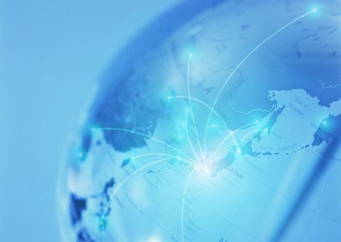 Global Communications「Image of global networks」:スマホ壁紙(13)