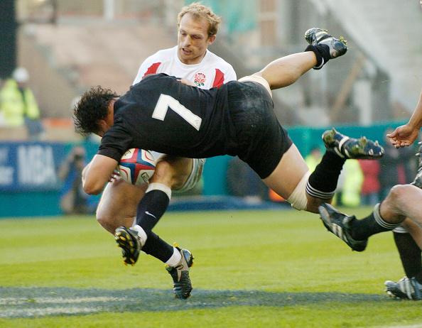 Matt Dawson「England v New Zealand Rugby Union international at Twickenham Stadium 2005」:写真・画像(14)[壁紙.com]