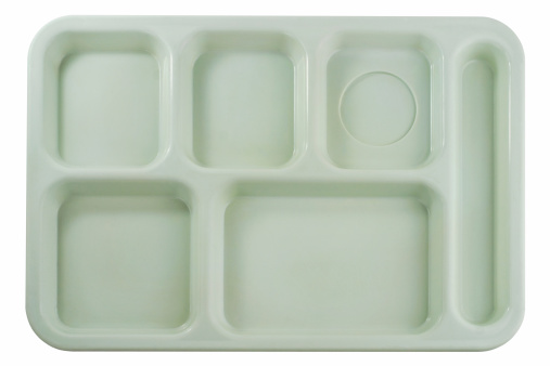 Tray「Empty School Lunch Tray」:スマホ壁紙(1)