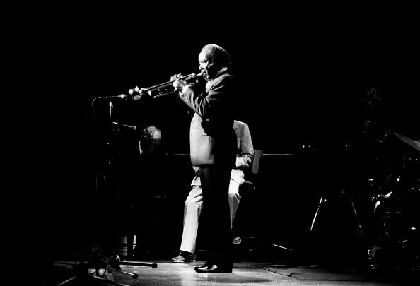 モノクロ「Roy Eldridge, Capital Jazz, Royal Festival Hall, London, July 1985」:写真・画像(10)[壁紙.com]