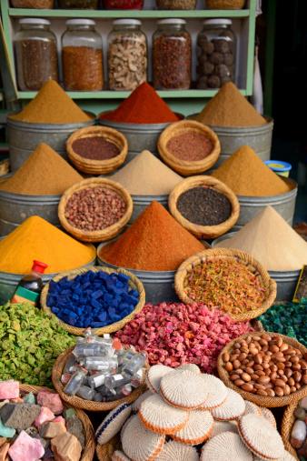 Market Stall「Spices」:スマホ壁紙(1)