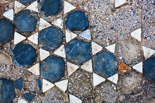 Greek Culture「Broken tile in the shape of stars on the ground」:スマホ壁紙(4)