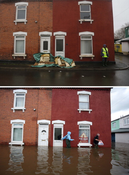 Risk「UK Braced For More Storms As Rain And Snow Bring More Flood Misery」:写真・画像(15)[壁紙.com]