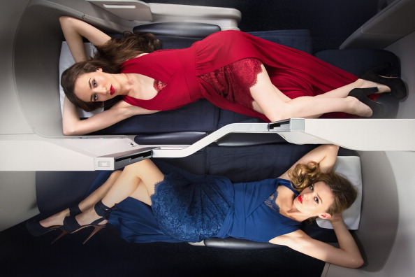 British Airways「Georgia May Jagger and Lizzie Jagger Photo Shoot」:写真・画像(3)[壁紙.com]