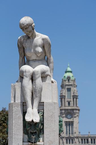 World Heritage「Liberdade Plaza in Porto」:スマホ壁紙(2)