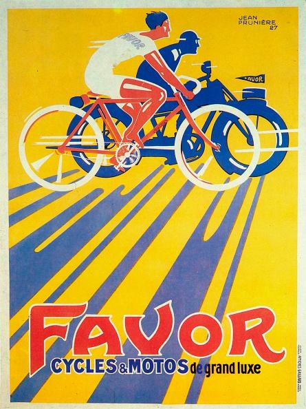 自転車・バイク「Advertisement for Favor bicycles and motorcycles 1927」:写真・画像(3)[壁紙.com]