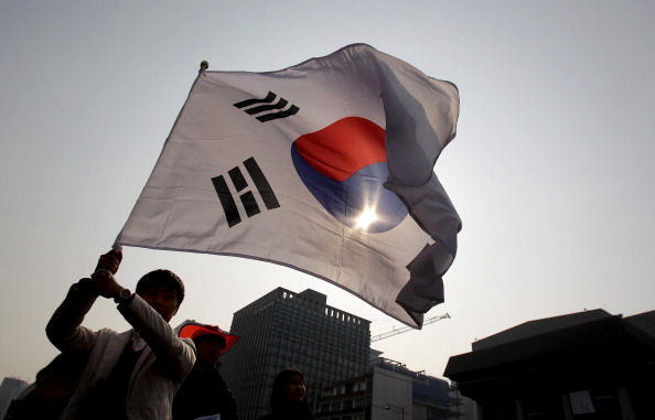 South Korea「South Koreans Hold Rallies Against Japan  Regarding Territorial Dispute」:写真・画像(0)[壁紙.com]
