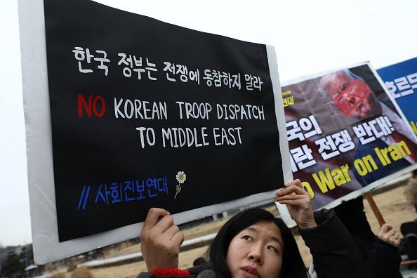 Decisions「South Korean Anti-War Activists Rally In Seoul」:写真・画像(5)[壁紙.com]