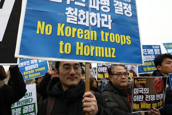 Decisions「South Korean Anti-War Activists Rally In Seoul」:写真・画像(6)[壁紙.com]
