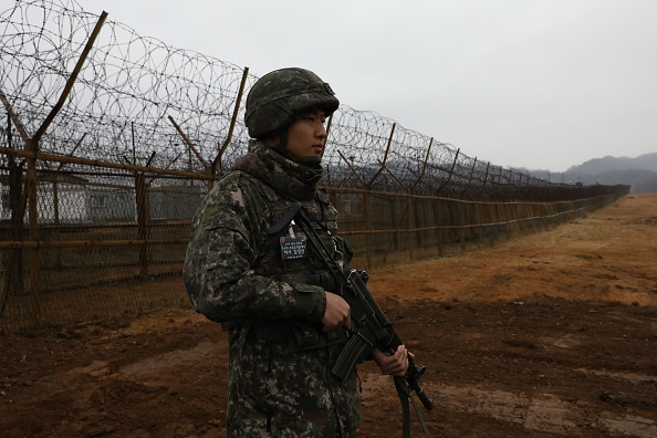 South Korea「North And South Korea Ease Military Tensions In The DMZ」:写真・画像(18)[壁紙.com]