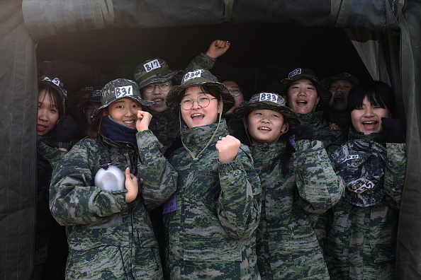 Korean Ethnicity「South Koreans Participate In Pohang's Winter Boot Camp」:写真・画像(8)[壁紙.com]