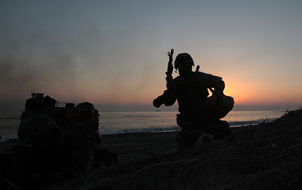 South Korea「South Korea and U.S. Marines Hold Joint Landing Operation In Pohang」:写真・画像(12)[壁紙.com]