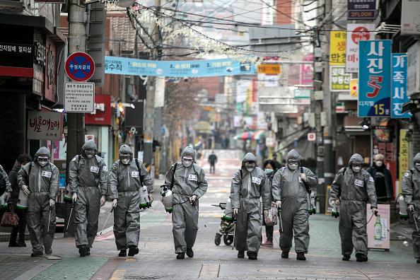 South Korea「Concern In South Korea As The Wuhan Covid-19 Spreads」:写真・画像(0)[壁紙.com]