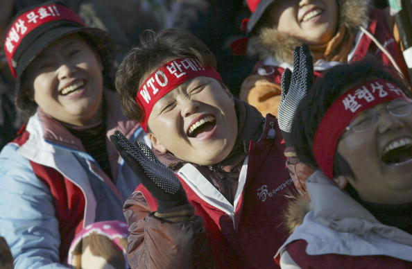Togetherness「South Korean Farmers Participate In Rally」:写真・画像(16)[壁紙.com]