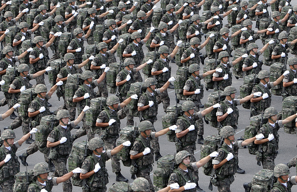 South Korea「The 65th South Korea Armed Forces Day Ceremony」:写真・画像(5)[壁紙.com]