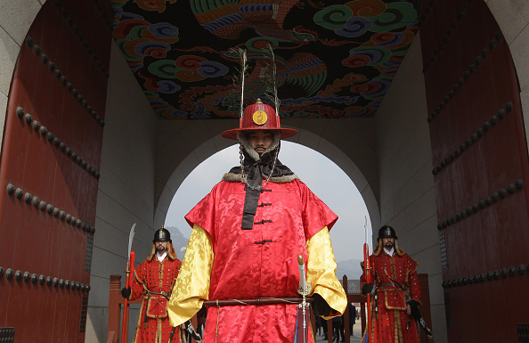 Gyeongbokgung「People Celebrate Lunar New Year's In Seoul」:写真・画像(15)[壁紙.com]