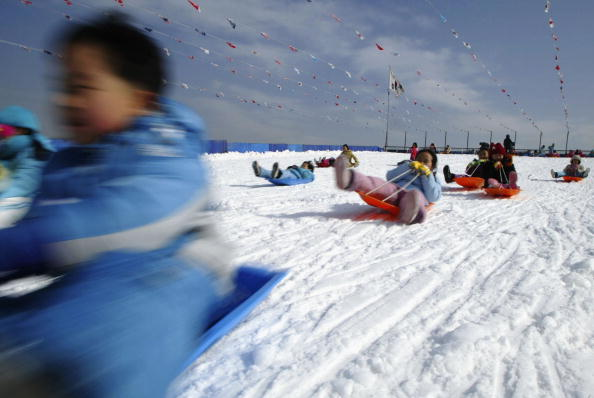 Winter Sport「Koreans Prepare For New Year Celebrations」:写真・画像(1)[壁紙.com]