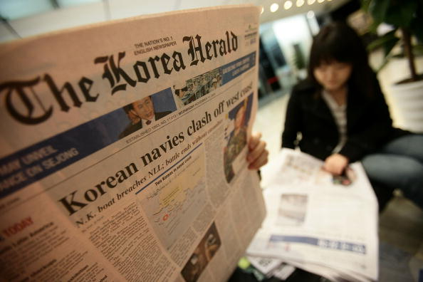 Chung Sung-Jun「South Korea Reacts To At-Sea Skirmish」:写真・画像(3)[壁紙.com]