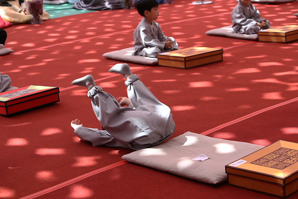 Bestpix「Children Become Buddhist Monks In Seoul」:写真・画像(8)[壁紙.com]