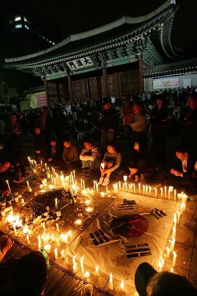 Chung Sung-Jun「South Korean Ex-President Roh Dies In Suspected Suicide」:写真・画像(13)[壁紙.com]