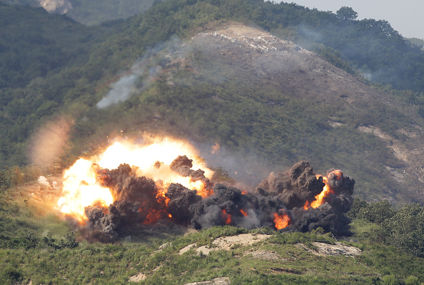 South Korea「South Korea And U.S. Military Hold Joint Live Fire Exercise In Seungjin」:写真・画像(15)[壁紙.com]