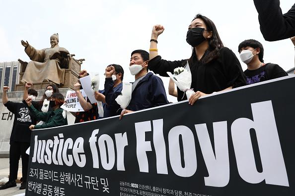 Asia「South Koreans Rally In Support Of Black Lives Matter」:写真・画像(19)[壁紙.com]