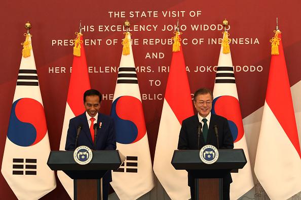 Chung Sung-Jun「Indonesian President Visit South Korea」:写真・画像(19)[壁紙.com]