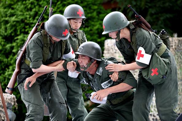 Historical Reenactment「South Koreans Mark 70 Years Since The Korean War」:写真・画像(19)[壁紙.com]
