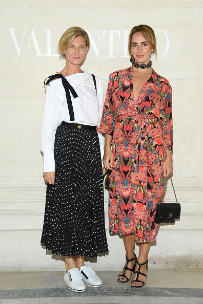 Multi Colored Dress「Valentino : Front Row - Paris Fashion Week - Haute Couture Fall/Winter 2019/2020」:写真・画像(14)[壁紙.com]