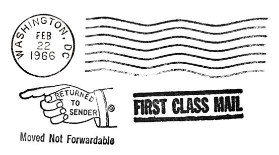 Correspondence「Authentic Wahington DC Vintage Postmarks」:スマホ壁紙(15)