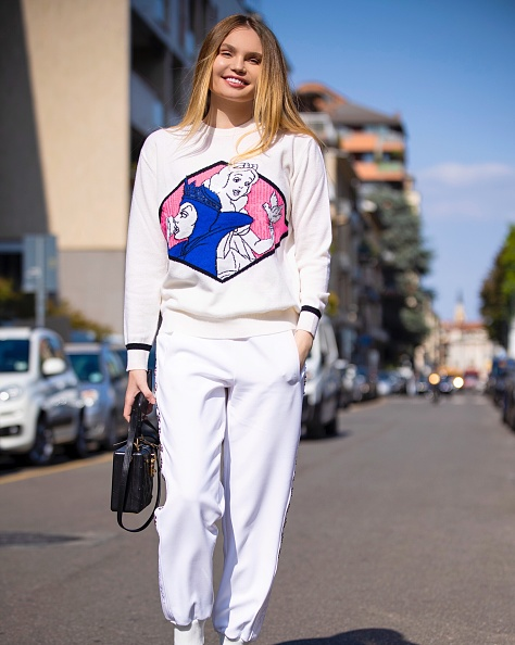 Box Purse「Elena Matei Attends Iceberg Fashion Show - Milan Fashion Week Spring/Summer 2020」:写真・画像(3)[壁紙.com]
