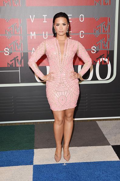 Demi Lovato「2015 MTV Video Music Awards - Arrivals」:写真・画像(9)[壁紙.com]