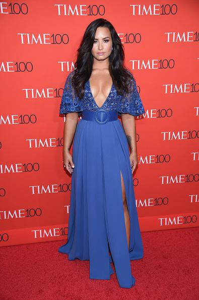 Demi Lovato「2017 Time 100 Gala - Red Carpet」:写真・画像(5)[壁紙.com]