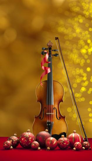 Violin「Holiday Music」:スマホ壁紙(3)