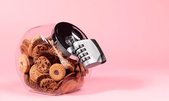 Fat - Nutrient「Biscuit jar with padlock」:スマホ壁紙(14)