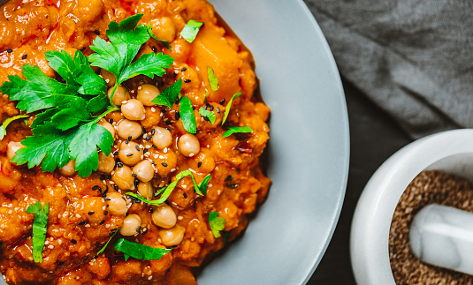 Ketogenic Diet「Indian Chana Alu Masala with Coriander – Chickpea Curry」:スマホ壁紙(18)