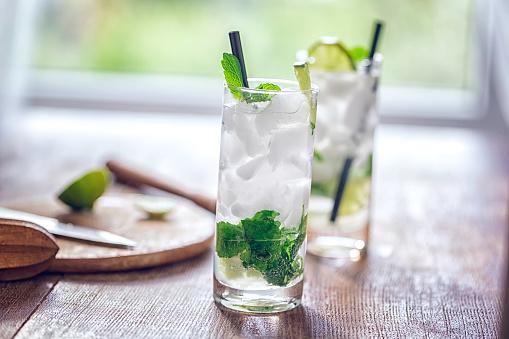 Mint Leaf - Culinary「Mojito Cocktail」:スマホ壁紙(3)