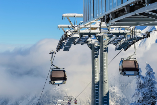 Ski Resort「Alpine Mountain Cable Car」:スマホ壁紙(9)