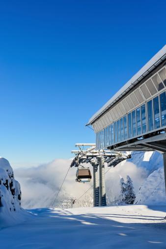 スノーボード「アルプス山ケーブルカー」:スマホ壁紙(8)