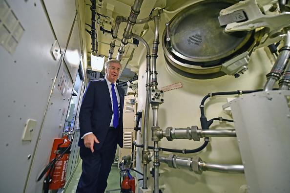 Storage Compartment「Defence Secretary Visits A Trident Nuclear Submarine」:写真・画像(15)[壁紙.com]