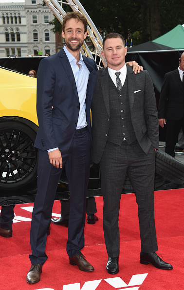 2人「'Logan Lucky' UK Premiere - Red Carpet Arrivals」:写真・画像(10)[壁紙.com]