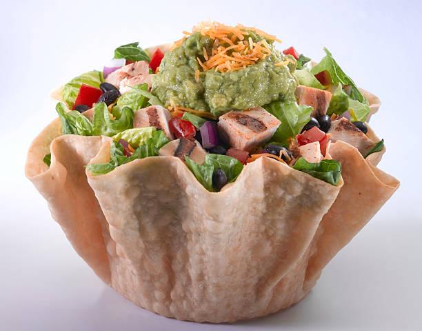 Taco Salad with Grilled Chicken:スマホ壁紙(壁紙.com)