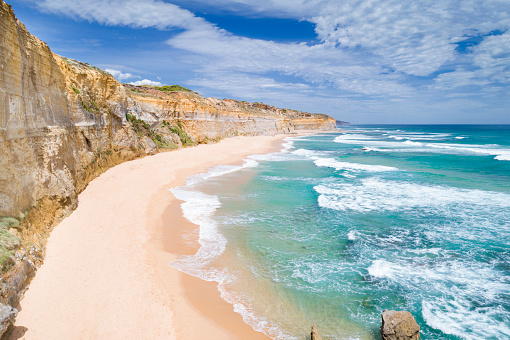 Rock Face「Gibson Steps, Twelve Apostels, Great Ocean Road, Australia」:スマホ壁紙(11)