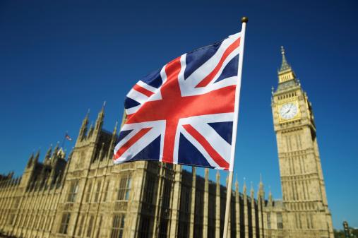 ユニオンジャック「ユニオンジャックの英国国旗の区間で国会議事堂、ロンドン」:スマホ壁紙(13)