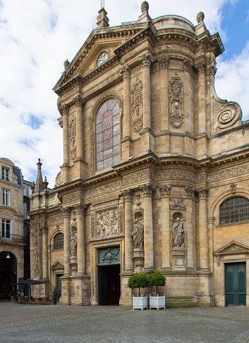 Nouvelle-Aquitaine「Bordeaux: Eglise Notre Dame」:スマホ壁紙(10)