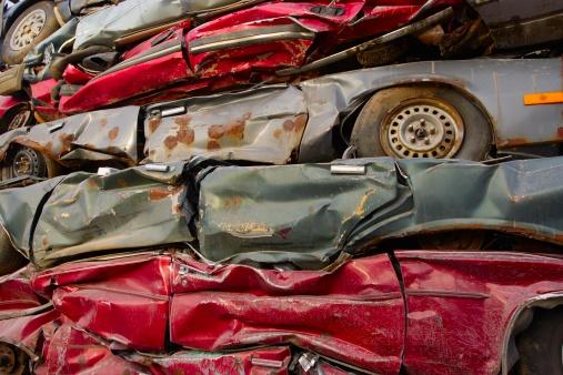 Lost「Crushed cars」:スマホ壁紙(17)