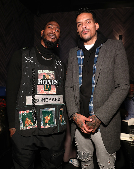 Matt Barnes「The Compound and Luxury Watchmaker Roger Dubuis Hosts NBA All-Star Dinner」:写真・画像(1)[壁紙.com]