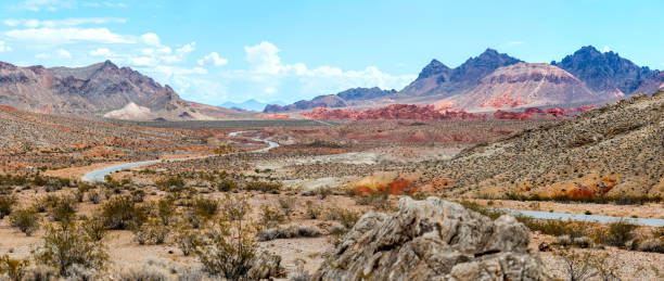 Desert Road Panorama:スマホ壁紙(壁紙.com)