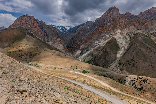 Himalayas「Desert Road near Fotu La Pass ,Himalaya,Jammu and Kashmir, Ladakh Region, Tibet,India,」:スマホ壁紙(10)
