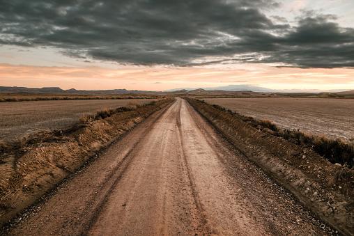 Desert「Desert road」:スマホ壁紙(3)